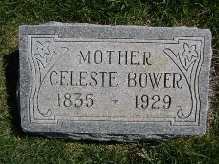 BOWER, CELESTE - Dawes County, Nebraska   CELESTE BOWER - Nebraska Gravestone Photos