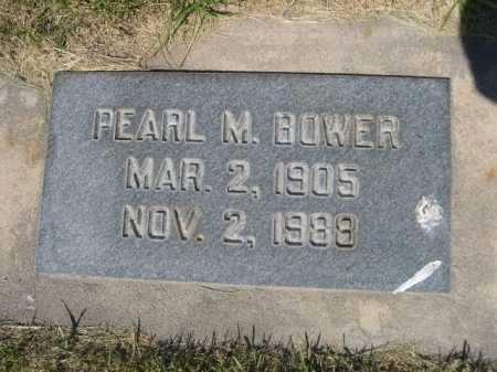 BOWER, PEARL M. - Dawes County, Nebraska | PEARL M. BOWER - Nebraska Gravestone Photos