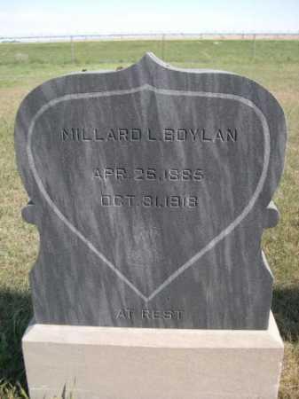 BOYLAN, MILLARD L. - Dawes County, Nebraska   MILLARD L. BOYLAN - Nebraska Gravestone Photos