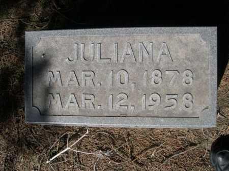 BRADDOCK, JULIANA - Dawes County, Nebraska   JULIANA BRADDOCK - Nebraska Gravestone Photos