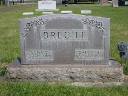 BRECHT, ANNA V. - Dawes County, Nebraska | ANNA V. BRECHT - Nebraska Gravestone Photos