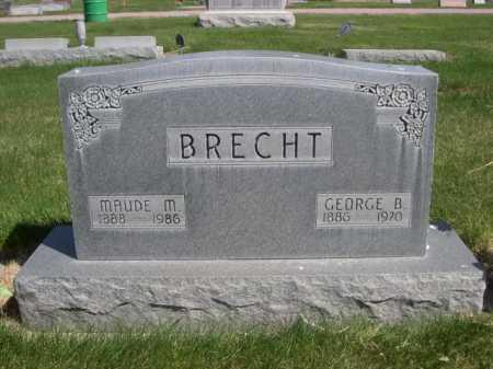 BRECHT, MAUDE M - Dawes County, Nebraska | MAUDE M BRECHT - Nebraska Gravestone Photos