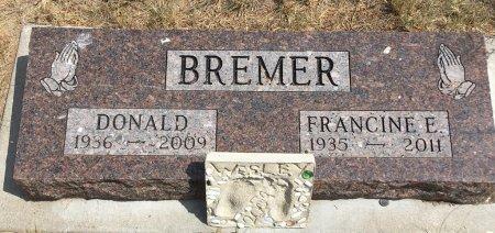 BREMER, DONALD - Dawes County, Nebraska | DONALD BREMER - Nebraska Gravestone Photos