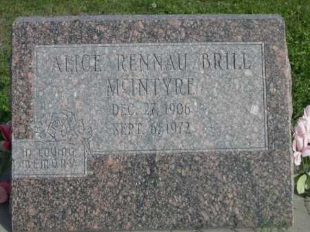 BRILL, ALICE - Dawes County, Nebraska | ALICE BRILL - Nebraska Gravestone Photos