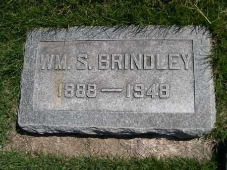 BRINDLEY, WM. S. - Dawes County, Nebraska   WM. S. BRINDLEY - Nebraska Gravestone Photos