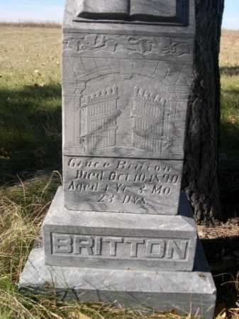 BRITTON, GRACE - Dawes County, Nebraska | GRACE BRITTON - Nebraska Gravestone Photos