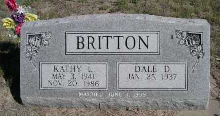 BRITTON, KATHY L. - Dawes County, Nebraska | KATHY L. BRITTON - Nebraska Gravestone Photos