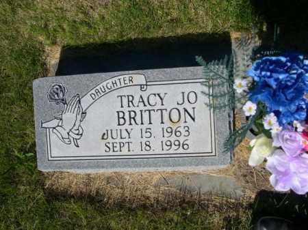 BRITTON, TRACY JO - Dawes County, Nebraska | TRACY JO BRITTON - Nebraska Gravestone Photos