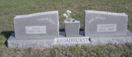BROADHURST, HERBERT - Dawes County, Nebraska | HERBERT BROADHURST - Nebraska Gravestone Photos