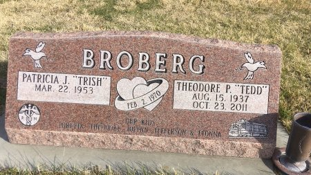 BROBERG, PATRICIA J - Dawes County, Nebraska | PATRICIA J BROBERG - Nebraska Gravestone Photos
