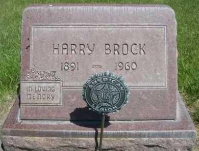 BROCK, HARRY - Dawes County, Nebraska | HARRY BROCK - Nebraska Gravestone Photos