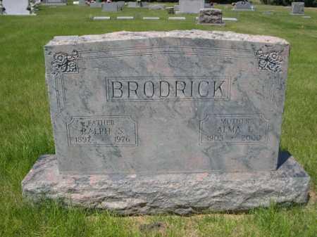 BRODRICK, ALMA L. - Dawes County, Nebraska   ALMA L. BRODRICK - Nebraska Gravestone Photos