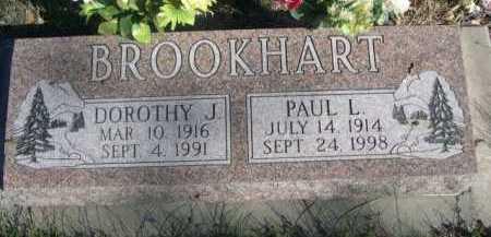BROOKHART, DOROTHY J. - Dawes County, Nebraska | DOROTHY J. BROOKHART - Nebraska Gravestone Photos