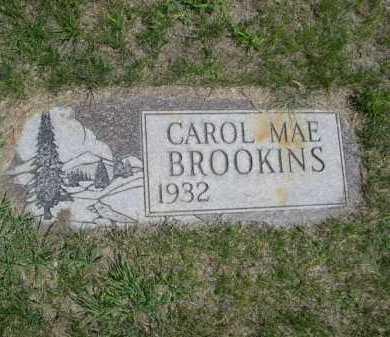 BROOKINS, CAROL MAE - Dawes County, Nebraska | CAROL MAE BROOKINS - Nebraska Gravestone Photos