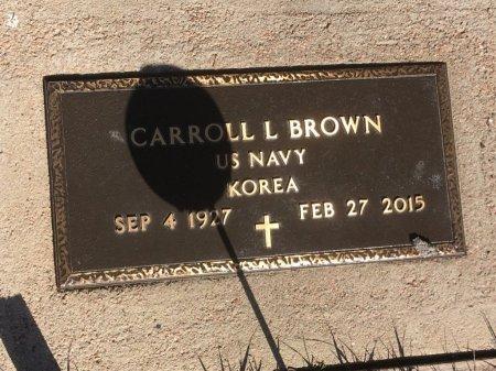 BROWN, CARROLL L - Dawes County, Nebraska | CARROLL L BROWN - Nebraska Gravestone Photos