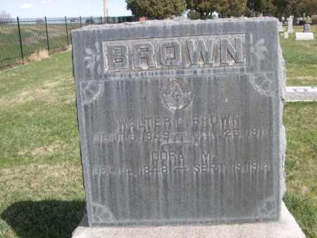 BROWN, DORA M. - Dawes County, Nebraska | DORA M. BROWN - Nebraska Gravestone Photos