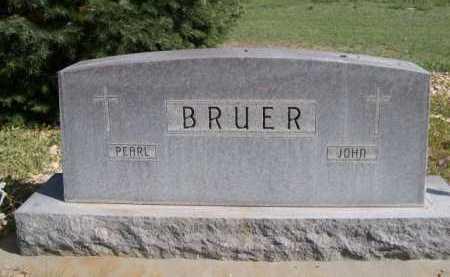 BRUER, PEARL - Dawes County, Nebraska | PEARL BRUER - Nebraska Gravestone Photos