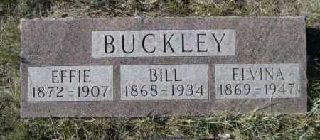 BUCKLEY, ELVINA - Dawes County, Nebraska | ELVINA BUCKLEY - Nebraska Gravestone Photos