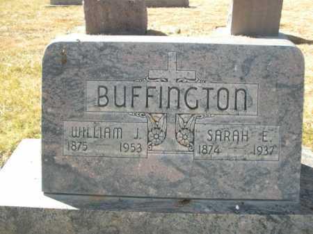 BUFFINGTON, WILLIAM J. - Dawes County, Nebraska | WILLIAM J. BUFFINGTON - Nebraska Gravestone Photos