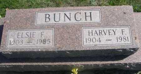 BUNCH, HARVEY F. - Dawes County, Nebraska   HARVEY F. BUNCH - Nebraska Gravestone Photos
