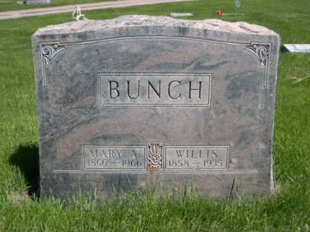 BUNCH, WILLIS - Dawes County, Nebraska | WILLIS BUNCH - Nebraska Gravestone Photos