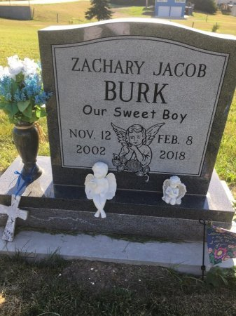 BURK, ZACHARY JACOB - Dawes County, Nebraska | ZACHARY JACOB BURK - Nebraska Gravestone Photos
