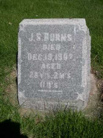 BURNS, J.S. - Dawes County, Nebraska | J.S. BURNS - Nebraska Gravestone Photos