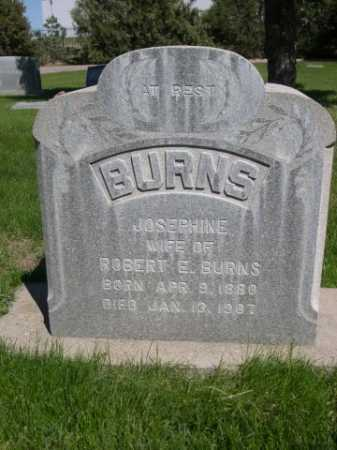 BURNS, JOSEPHINE - Dawes County, Nebraska | JOSEPHINE BURNS - Nebraska Gravestone Photos