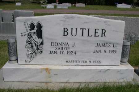 BUTLER, DONNA J. - Dawes County, Nebraska | DONNA J. BUTLER - Nebraska Gravestone Photos