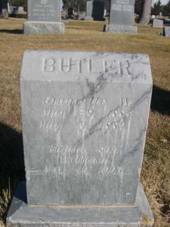 BUTLER, GRANAILLE W. - Dawes County, Nebraska | GRANAILLE W. BUTLER - Nebraska Gravestone Photos