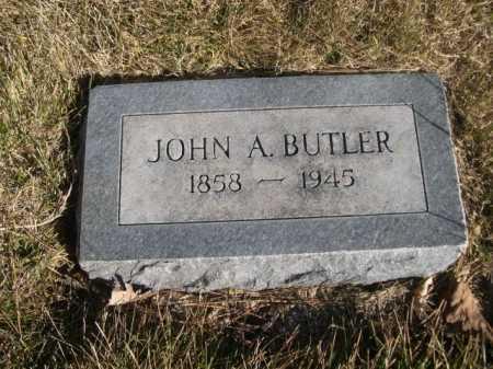 BUTLER, JOHN A. - Dawes County, Nebraska | JOHN A. BUTLER - Nebraska Gravestone Photos