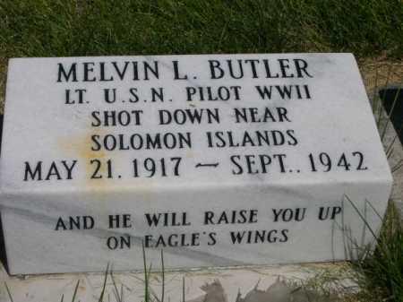 BUTLER, MELVIN L. - Dawes County, Nebraska   MELVIN L. BUTLER - Nebraska Gravestone Photos