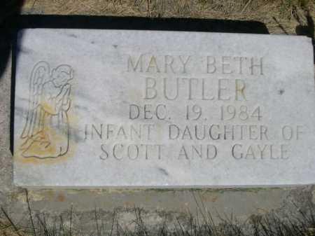 BUTLER, MARY BETH - Dawes County, Nebraska   MARY BETH BUTLER - Nebraska Gravestone Photos