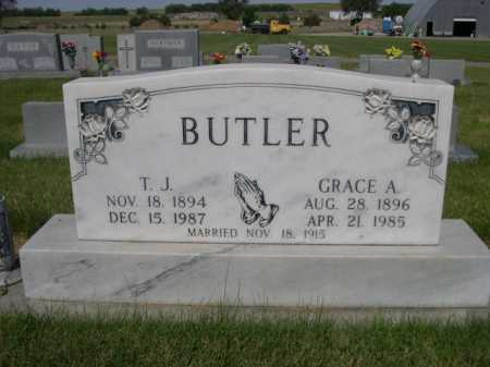 BUTLER, T. J. - Dawes County, Nebraska   T. J. BUTLER - Nebraska Gravestone Photos