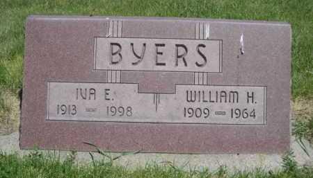 BYERS, WILLIAM H. - Dawes County, Nebraska   WILLIAM H. BYERS - Nebraska Gravestone Photos