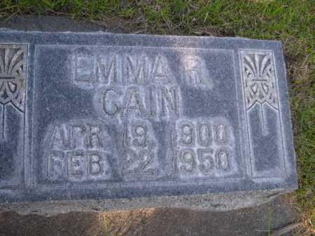 CAIN, EMMA R. - Dawes County, Nebraska   EMMA R. CAIN - Nebraska Gravestone Photos