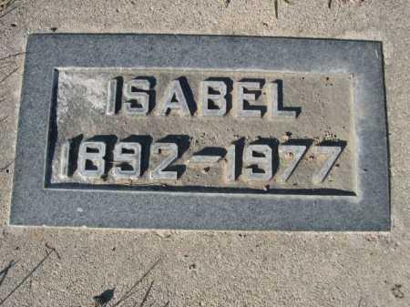 CAMPBELL, ISABEL - Dawes County, Nebraska   ISABEL CAMPBELL - Nebraska Gravestone Photos