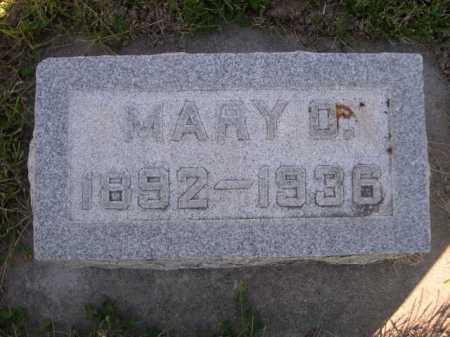CAMPBELL, MARY O. - Dawes County, Nebraska | MARY O. CAMPBELL - Nebraska Gravestone Photos