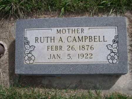 CAMPBELL, RUTH A. - Dawes County, Nebraska | RUTH A. CAMPBELL - Nebraska Gravestone Photos
