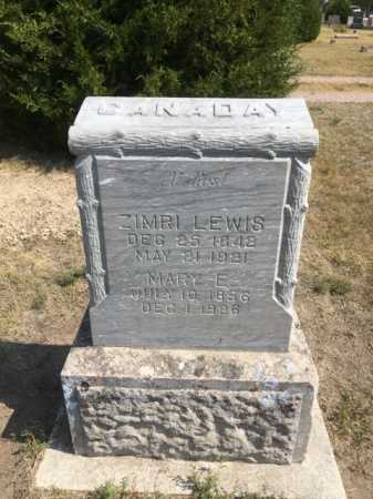 CANADAY, MARY F. - Dawes County, Nebraska   MARY F. CANADAY - Nebraska Gravestone Photos
