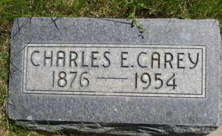 CAREY, CHARLES E. - Dawes County, Nebraska   CHARLES E. CAREY - Nebraska Gravestone Photos