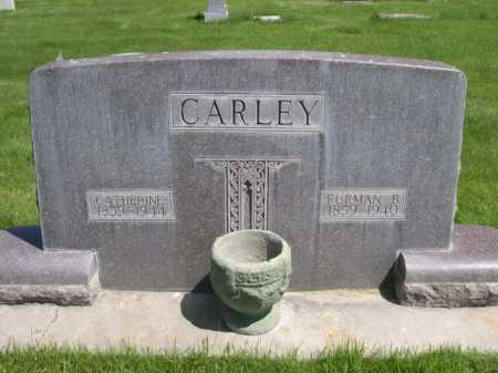 CARLEY, CATHERINE - Dawes County, Nebraska   CATHERINE CARLEY - Nebraska Gravestone Photos