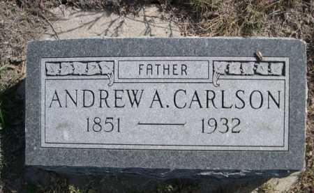 CARLSON, ANDREW A. - Dawes County, Nebraska   ANDREW A. CARLSON - Nebraska Gravestone Photos