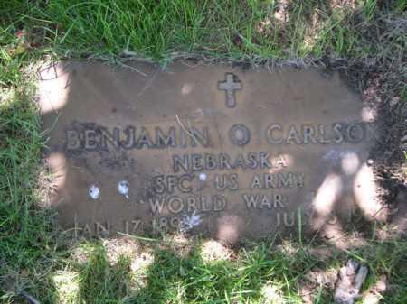 CARLSON, BENJAMIN - Dawes County, Nebraska | BENJAMIN CARLSON - Nebraska Gravestone Photos