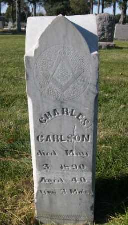 CARLSON, CHARLES - Dawes County, Nebraska | CHARLES CARLSON - Nebraska Gravestone Photos