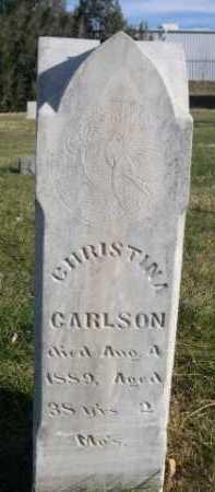 CARLSON, CHRISTINA - Dawes County, Nebraska | CHRISTINA CARLSON - Nebraska Gravestone Photos