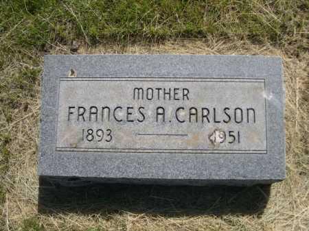 CARLSON, FRANCES A. - Dawes County, Nebraska | FRANCES A. CARLSON - Nebraska Gravestone Photos