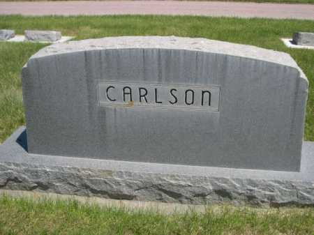 CARLSON, FAMILY - Dawes County, Nebraska | FAMILY CARLSON - Nebraska Gravestone Photos