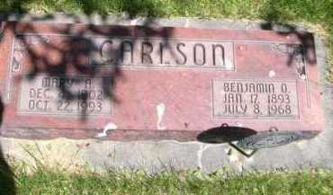 CARLSON, MARY A. - Dawes County, Nebraska   MARY A. CARLSON - Nebraska Gravestone Photos