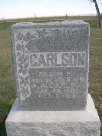 CARLSON, ROGER P. - Dawes County, Nebraska | ROGER P. CARLSON - Nebraska Gravestone Photos